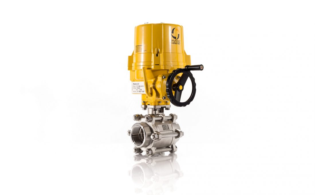 Electric 66 Ball Valve Assembly