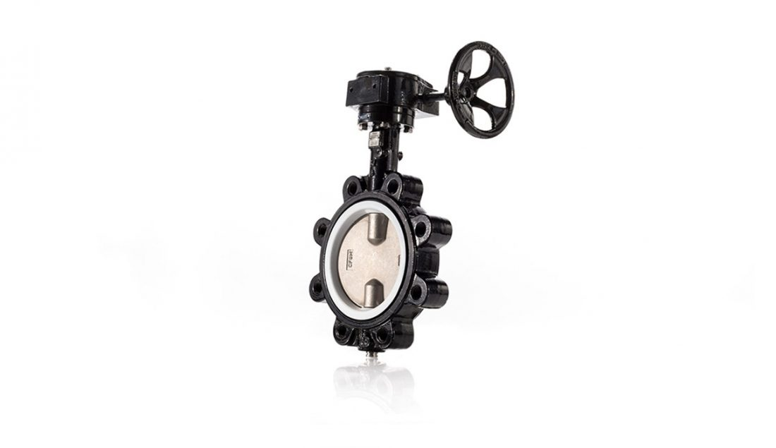 700 Lug with Gear Butterfly Valve