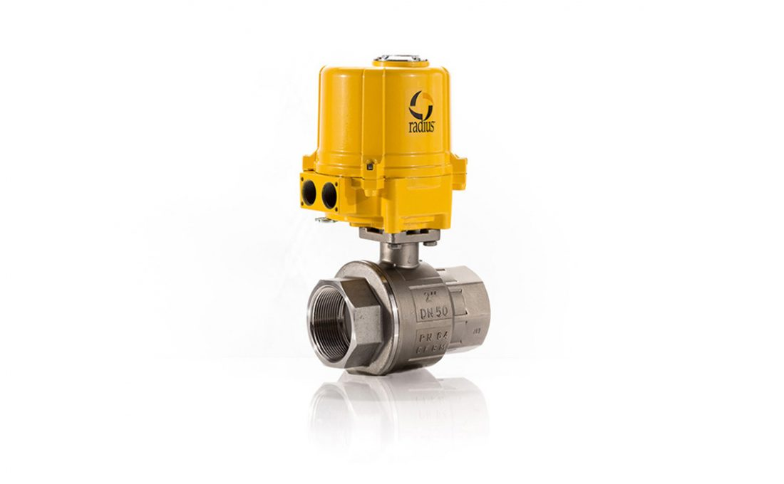 Electric 22D SS Ball Valve Assembly