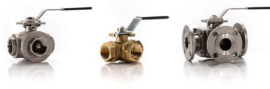 3 way ball valves